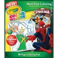 Crayola® Color Wonder® Spiderman Coloring Pad, 10in. x 8.5in. x 0.1in.