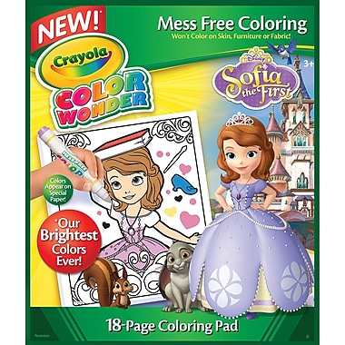 Crayola® Color Wonder® Sofia The First Coloring Pad, 10