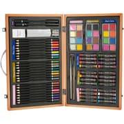 "Darice® Studio 71 80 Piece Professional Art Set, 10"" x 14.5"" x 1.5"""