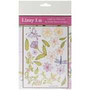 Debbi Moore Designs 8 1/4 x 6 18-piece Lizzy Lu Clear Stamp Set