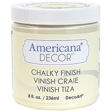 Deco Art Americana Decor Non-Toxic 8 oz. Chalky Finish Paint, Whisper (ADC-03)