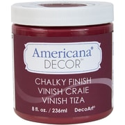 Deco Art® Americana® Decor™ 8 oz. Chalky Finish Paint, Rouge