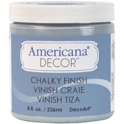 Deco Art Americana Decor Non-Toxic 8 oz. Chalky Finish Paint, Serene (ADC-18)