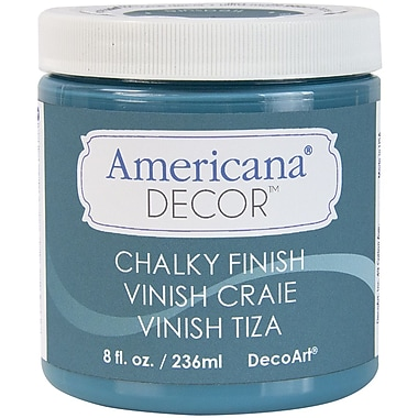 Deco Art Americana Decor Non-Toxic 8 oz. Chalky Finish Paint, Treasure (ADC-19)