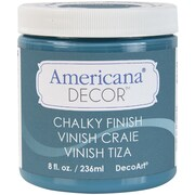 Deco Art Americana Decor Non-Toxic 8 oz. Chalky Finish Paint, Treasure (ADC-19)