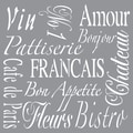 Deco Art® Americana® Decor™ Stencil, French Living