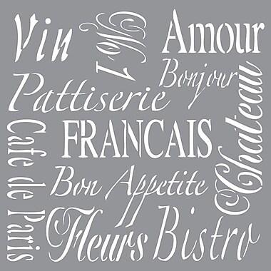 Deco Art® Americana® Decor™ Stencil, French Living