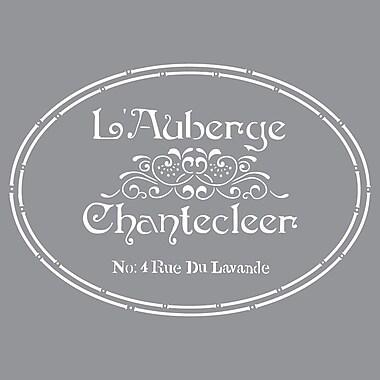 Deco Art® Americana® Decor™ Stencil, The French Inn
