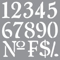 Deco Art® Americana® Decor™ Stencil, Olde World Numbers