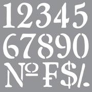 Deco Art® Americana® Decor™ Stencil, Olde World Numbers