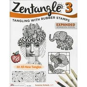 "Design Originals ""Zentangle 3: Featuring Ideas for Scrapbooks & Jour.."" Book, 10.8"" x 8.5"" x 0.1"""