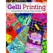 """Design Originals """"Gelli Printing: Printing Without a Press on Paper and.."""" Book, 10.8"""" x 8.5"""" x 0.1"""""""