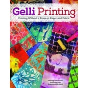 "Design Originals ""Gelli Printing: Printing Without a Press on Paper and.."" Book, 10.8"" x 8.5"" x 0.1"""