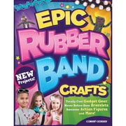 "Design Originals ""Epic Rubber Band Crafts"" Book, 11"" x 8.5"" x 0.1"""
