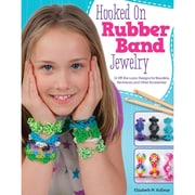 "Design Originals ""Hooked On Rubber Band Jewelry"" Book, 10.8"" x 8.5"" x 0.1"""