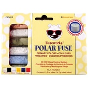 Diamond Tech Crafts Fuseworks™ Primary Polar Fuse Glass Powder, 6.08 oz.