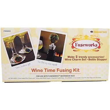 Diamond Tech Crafts Fuseworks Wine Time Kit, 3.8