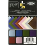 "Diecuts With A View® 4 1/2"" x 6 1/2"" Mat Stack, Shimmer Solid"