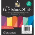 Diecuts With A View® 6in. x 6in. Double-Sided Printed Cardstock Paper Stack, Jewel