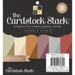 Diecuts With A View® 6in. x 6in. Double-Sided Printed Cardstock Paper Stack, Neutral
