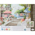Dimensions Paint By Number Kit, 14in. x 11in. x 1.4in., Cafe By The Sea