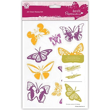 Docrafts™ Papermania A5 Clear Stamps