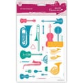 Docrafts™ Papermania A5 Clear Stamp, Musical Instruments