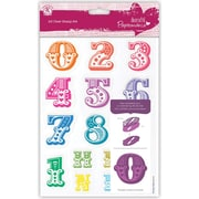 Docrafts™ Papermania A5 Clear Stamp, Carnival Numbers