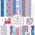 Doodlebug™ 12in. x 12in. Paper Pack, Patriotic Parade