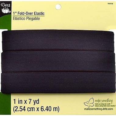 Dritz™ Fold-Over Elastic, Black