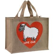 Dublin Gift 12 x 14 x 7 1/2 Love Ewe Re-usable Shopping Bag