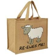 Dublin Gift 12 x 14 x 7 1/2 Ewes Me Re-usable Shopping Bag