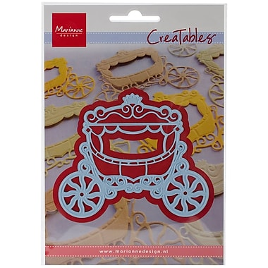 Ecstasy Crafts Marianne Design Creatables Dies, Princess Carriage