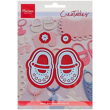 Ecstasy Crafts Marianne Design Creatables Dies, My First Shoes