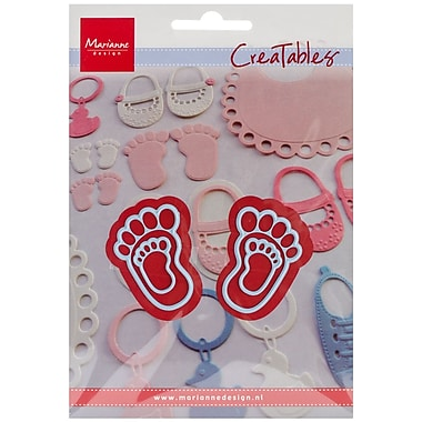 Ecstasy Crafts Marianne Design Creatables Diess, Feet