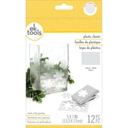 "EK Success® 5"" x 7"" Plastic Sheets, Frosted"