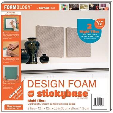 Fairfield 2/Pack Rigid Design Foam, 12