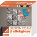 Fairfield 12/Pack Rigid Design Foam, 12in. x 12in. x 1/2in., White
