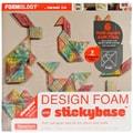 Fairfield Tangram Set Design Foam, 12in. x 12in. x 1in., White