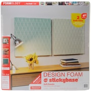 "Fairfield Design Foam, 24"" x 24"" x 1"", White"