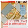 Fairfield Criss Cross Design Foam, 12in. x 12in. x 2in., White
