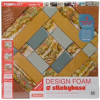 Fairfield Criss Cross Design Foam, 24