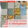 Fairfield On The Grid Design Foam, 12in. x 12in. x 2in., White