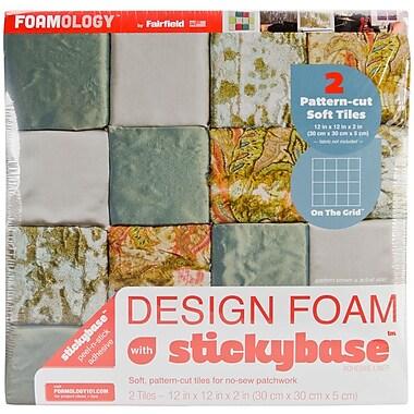 Fairfield On The Grid Design Foam, 12