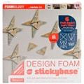 Fairfield Tri Set Design Foam, 12in. x 12in. x 1in., White