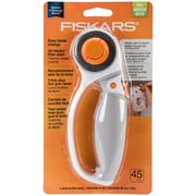 Fiskars® Softgrip® Easy 45mm Blade Change Titanium Rotary Cutter