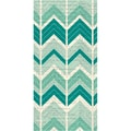 Hazel & Ruby® Wrap It Up Crazy For Chevy Teals Paper Roll, 18in. x 144in.