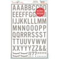 Hazel & Ruby® 12in. x 18in. Stencil Mask® Peel Away Alphabet Stencil Sheets