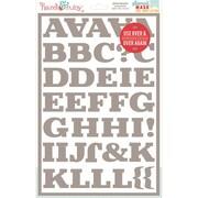 Hazel & Ruby® 12 x 8 Stencil Mask® Peel Away Alphabet Stencil Sheet, Central Park