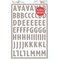 Hazel & Ruby® 12in. x 8in. Stencil Mask® Peel Away Alphabet Stencil Sheets